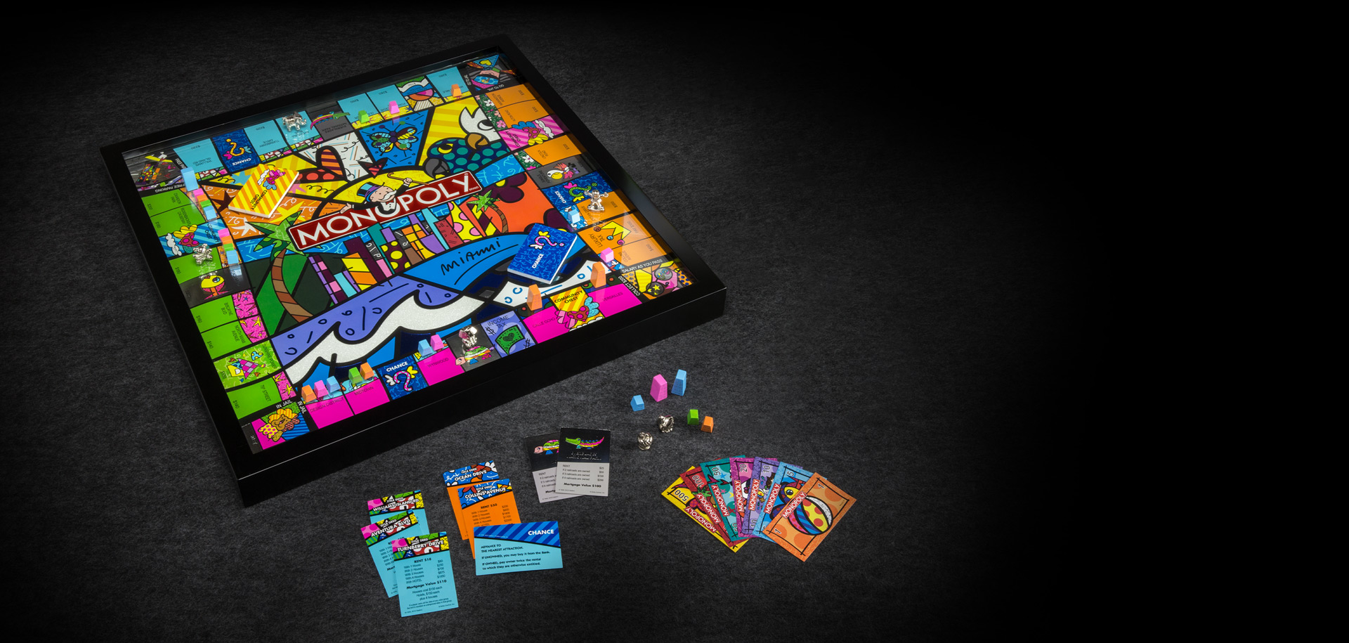 Monopoly Miami Edition By Romero Britto