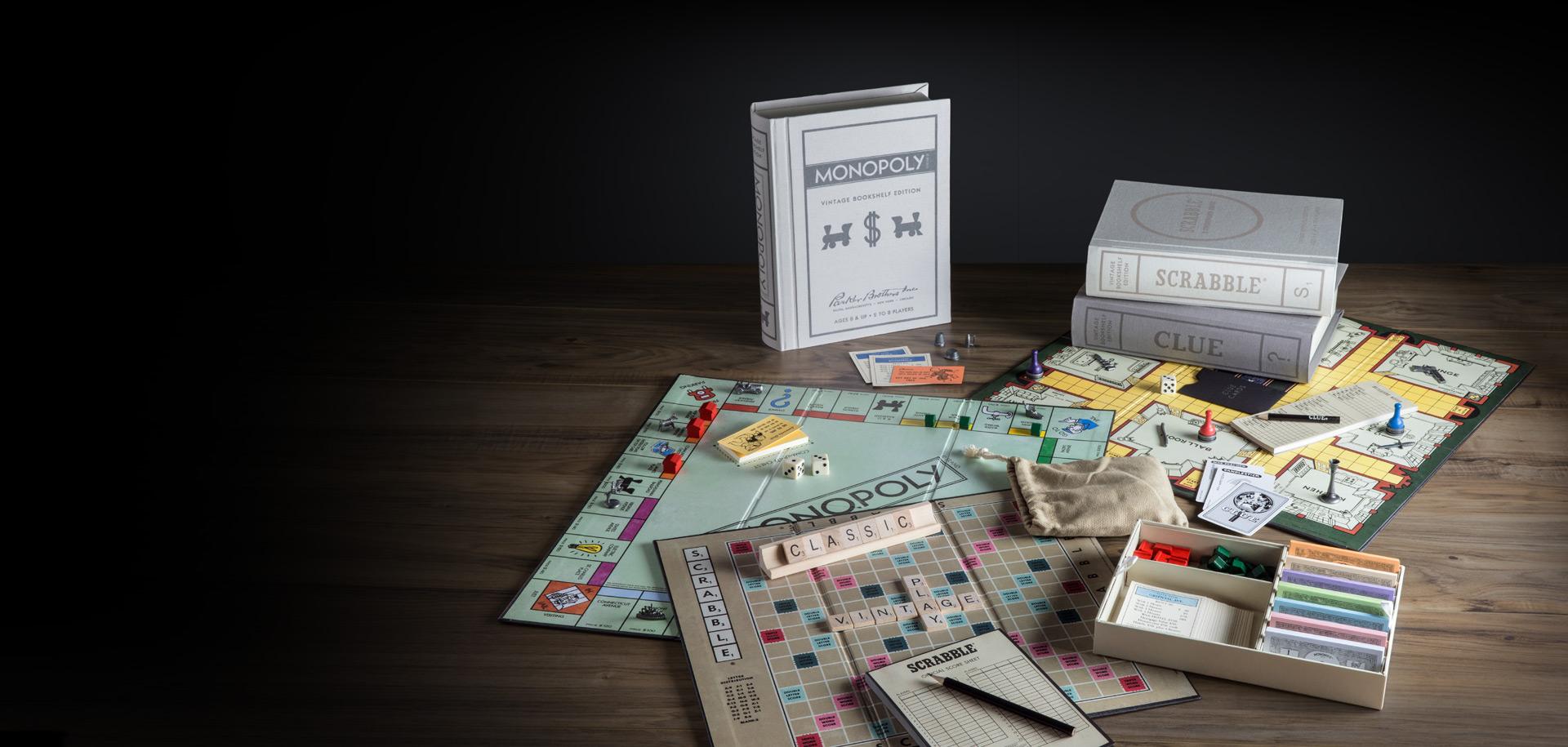 Premium Games Of Scrabble Monopoly Clue Sorry Trivial Pursuit