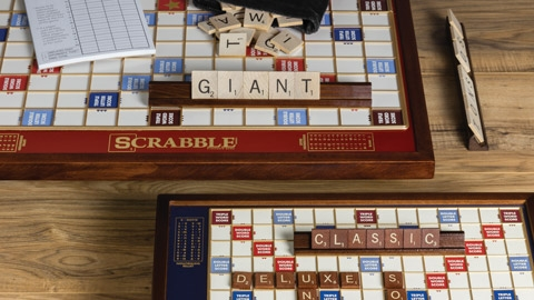 Premium Games of Scrabble, Monopoly, Clue, Sorry, Trivial